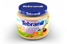 6 Fruits & Cereals Tebramil Jars by Pharmex