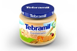 Buscuits & Multi Fruits Tebramil Jars by Pharmex