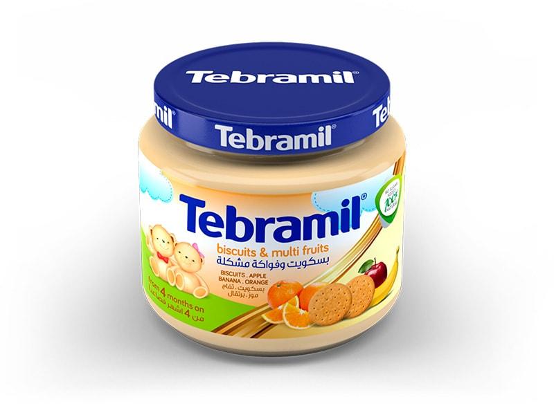Buscuits & Multi Fruits Tebramil Jars by Pharmex